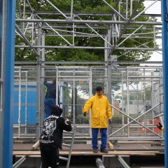 2019/05/02 BHR-OX Construction day – photo