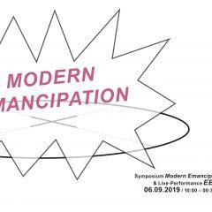 Symposium Modern Emancipation – Programmablauf