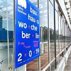 bauhauswoche berlin 2019