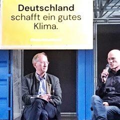 Klimawahl-Podium GermanZero